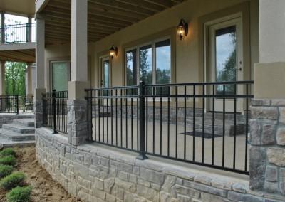 3 Rail on porch