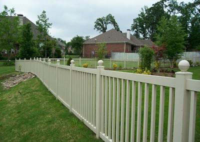 4' pool fencing (TAN)