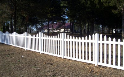 4' scalloped picket