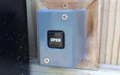 Push to Open button
