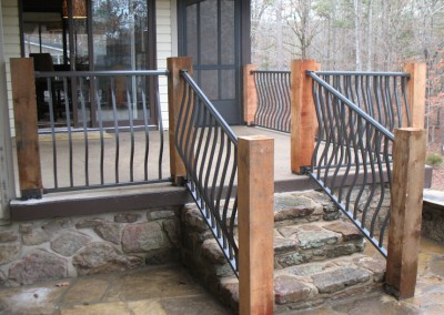 Model A w French Curve Pickets (Bronze)