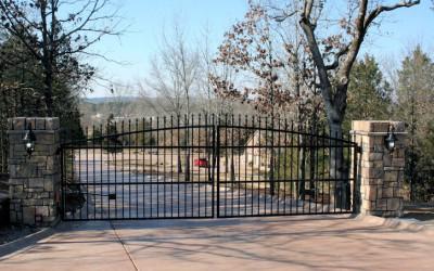 Custom Steel Gate