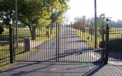 Steel Estate Gates